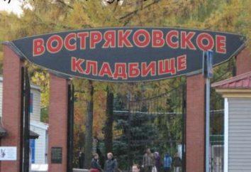 Moskwa atrakcje: Vostryakovsky cmentarz