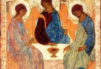 """""""Trinità dell'Antico Testamento"""": una descrizione delle icone"""