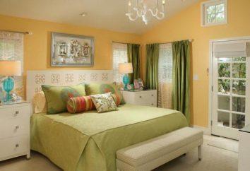 Sypialnia w jasnych kolorach: cech konstrukcyjnych i ciekawych pomysłów