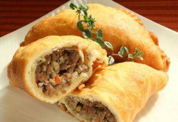 torta di Delicious con carne: una ricetta per sfoglia e pasta lievitata