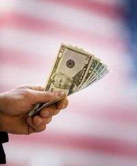 Chéquier comme un moyen de retirer des fonds du compte