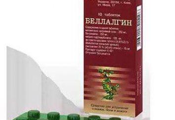 """Tabletki """"Bellalgin"""": Wskazania do stosowania i analogów"""