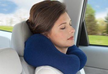 Farà viaggiare con un cuscino di viaggio confortevole