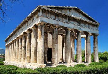 Tempel des Hephaistos in Athen
