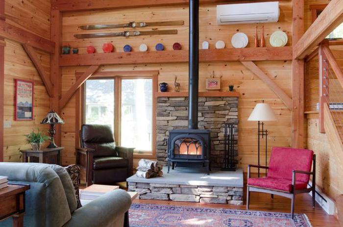 comment d corer le plafond dans une maison priv e avec chauffage au po le. Black Bedroom Furniture Sets. Home Design Ideas