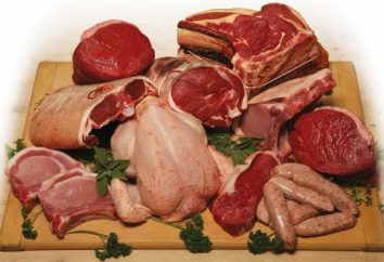 Carne: Propriedades de processamento de carne. A composição e as propriedades de carne