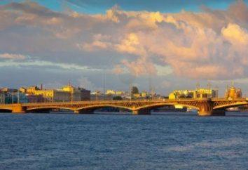 Zwiastowanie most – zabytek inżynierii i architektury myśli Petersburgu