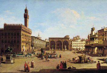 Piazza della Signoria in Florenz: Skulptur, interessante Fakten, Fotos
