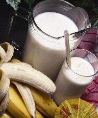 batido de proteínas sabroso y saludable en el hogar