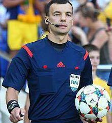 árbitro ucraniano Sergey Boyko