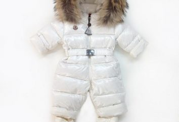 Winteranzüge für Mädchen – ein zuverlässiger Schutz vor sogar strengen Frösten