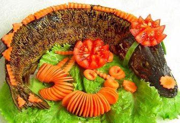 Comment faire un brochet avec des légumes?