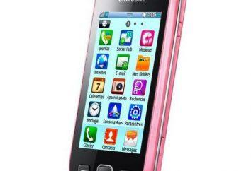 """Samsung 5250"": opis, charakterystyka, zdjęcia"