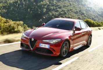 """""""Alfa Romeo Dzhuliya"""": Caractéristiques, description, photos"""