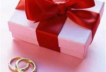 Cadeaux uniques pour le mariage. Comment inhabituelle ils devraient être
