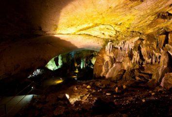 Marble Cave auf der Krim – eine einzigartige Schöpfung der Natur