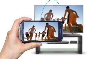 Jak przesłać zdjęcia z telefonu do telewizora? Instrukcje. technologia Miracast