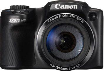 Canon Powershot SX510 HS: recensioni, foto e caratteristiche