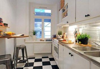 meble kuchenne dla małych kuchniach: oszczędność miejsca