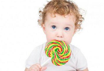 doces útil para as crianças