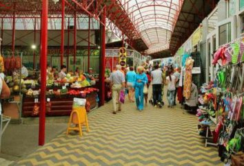 Anapa Central Market jest jednym z symboli