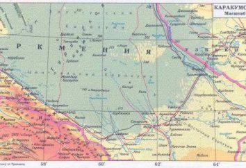 Canal de Karakum: descrição, história da construção, foto