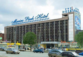 "W hotelu ""Marins Park"" (Jekaterynburg) opinie, cena, opis"