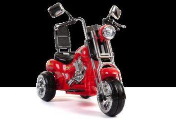 Elektromototsikl dzieci – wózki dla małego rowerzysty