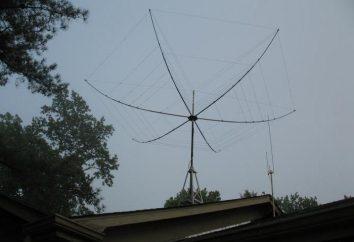 Log-périodique antenne: le calcul des dimensions et des caractéristiques de base