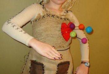 Comment coudre leurs propres costumes de poupées mains pour Halloween?