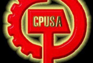 Etats-Unis, Parti communiste: fondé, idéologie, activité