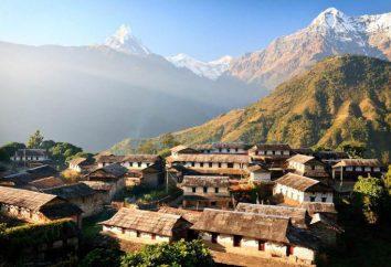 Der Himalaya. Wo ist Nepal?