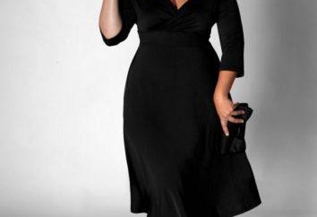 Robes pour les femmes obèses à une célébration: les meilleurs styles