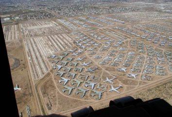Il più grande cimitero di aerei