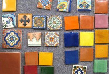 azulejos decorativos en la decoración