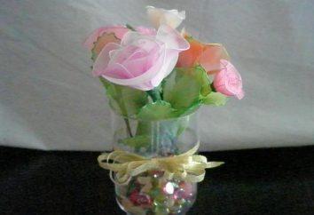 Jak zrobić kwiaty z nylonu