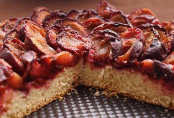 Ricetta: Torta con le prugne – strati, triturati e invertita