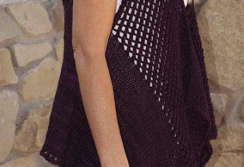 Gilet crochet. Manches en tricot au crochet – motifs, diagrammes