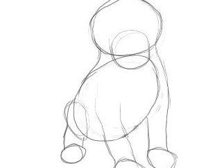 Como desenhar um filhote de cachorro e obter prazer com isso
