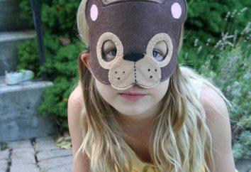 """Maske """"Bear"""": Wie man in wenigen Minuten improvisierten"""