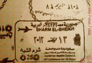 Sinai visto – ingresso gratuito in Egitto