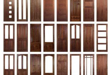Drzwi wewnętrzne: opinie i zalecenia. Jak wybrać drzwi wewnętrzne?