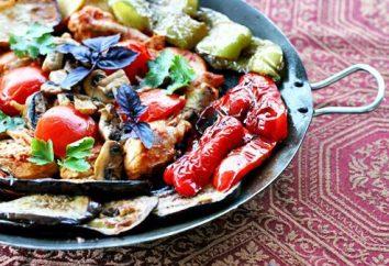 Cozinhar Saj. Receita Oriental delicadeza, ingredientes, regras de alimentação