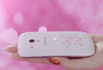 """""""Samsung La Fleur"""" – um ótimo telefone para senhoras elegantes."""