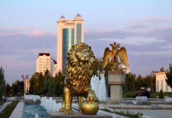 Die bekanntesten Sehenswürdigkeiten von Turkmenistan