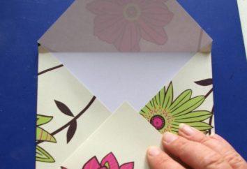 Wie den Umschlag mit den Händen machen