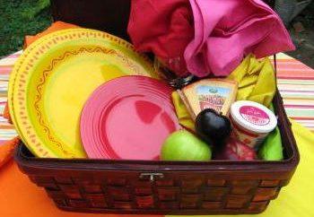 Was für ein Picknick zu bringen: die unbedingt notwendige Minimum für einen angenehmen Aufenthalt