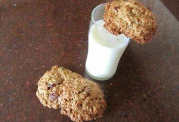 Ciasteczka owsiane bez mąki: receptury w domu