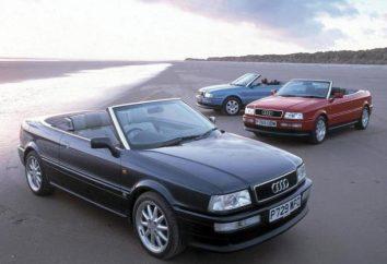 """Kabrioletów """"Audi"""" (Audi): wykaz specyfikacji, zdjęcia i opinie modeli"""