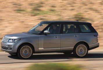 Brytyjski SUV Range Rover Supercharged: specyfikacje, opinie